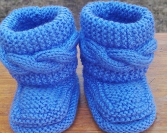 baby booties  baby shoes  baby shower gift  baby boots  baby boys booties  booties  knitting  baby knitting  newborn booties  socks