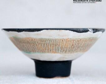 Ceramic bowl, stoneware bowl