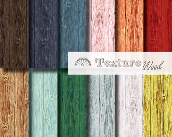 Digital paper wood texture