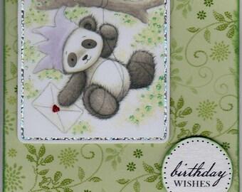 Birthday Wishes Panda