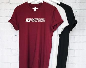 USPS T-Shirt, Post Office Shirt, Mail Shirt, Mail Man, Mailman Shirt, USPS Shirt, Vintage T-Shirt, Postal T-Shirt, Postal Worker Shirt