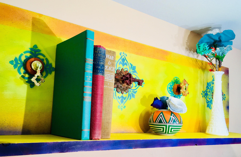 Bookshelves floating shelves pallet wood book shelf /reclaimed ...