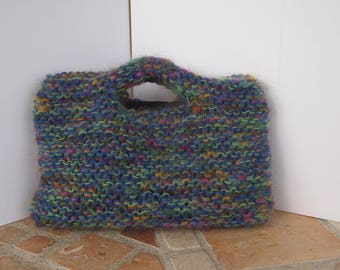 basket of wool and textile bag