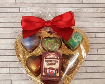 Artisan handcrafted chocolate truffles and caramels