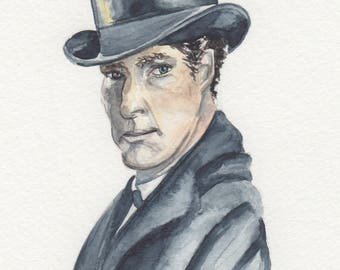 Sherlock Holmes Watercolor Collection