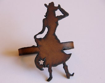 Cowgirl Napkin Rings (Set of 2)