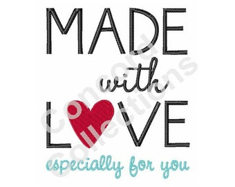 Love Machine Embroidery Design