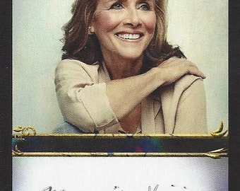 Meredith Vieira AUTOGRAPHED Custom Trading Card