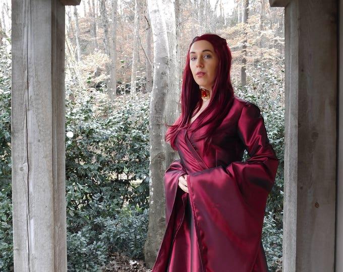 Handmade Melisandre Cosplay Dress Costume