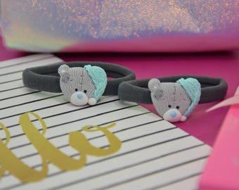 Ponytail holders / ponytail elastics, Teddy Bear Ponytail, Kids Ponytail