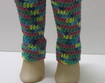 Cotton Crochet Yoga Socks ~Size 6-8~