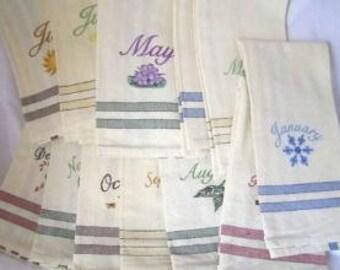 Classic 12 Month Towel Set