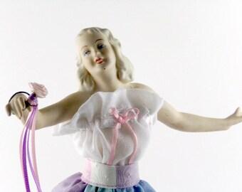 German Porcelain  Figure Doll