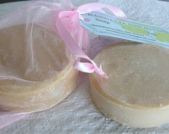 Handcrafted Sandalwood Coconut Milk Soap, 2/8