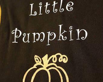 Grandma's Little Pumpkin, Glitter Pumpkin, Fall Outfit, Halloween Costume, Baby Outfit, Baby Costume, Baby Announcement, Little Pumpkin