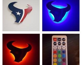 Houston Texans Man Cave Accessories : Houston texans decor etsy