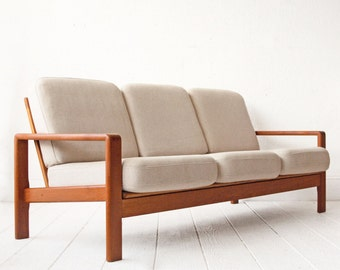 SALE - Danish Teak Mid Century Sofa