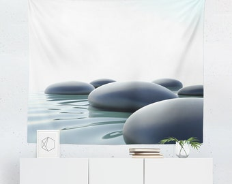 Zen Tapestry | Zen Wall Tapestry | Peaceful Tapestry | Peaceful Wall Tapestry | Zen Wall Decor | Zen Wall Hanging | Peaceful Wall Decor