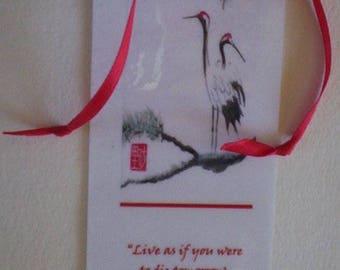 Crane Bookmark
