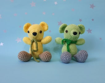 Knitted Toy Bear