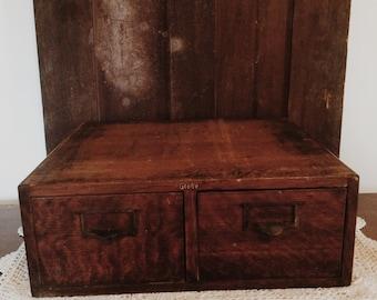 Antique Globe Filing Cabinet