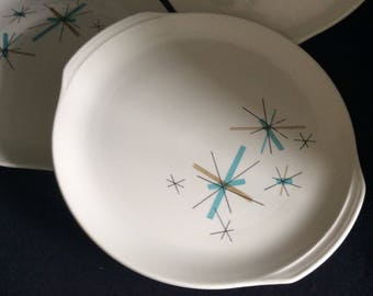 Vintage plate dishes North Star mid century