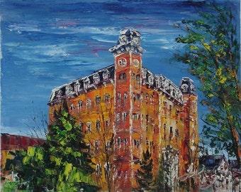 OLD MAIN, University of Arkansas-Pen King-5309
