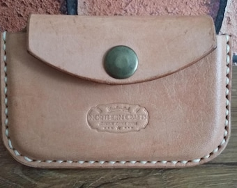 Leather Card Case Handmade