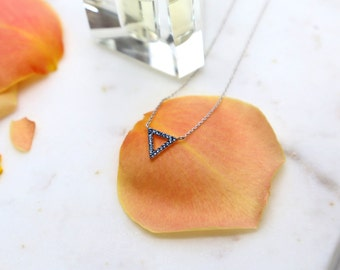 Dreieck-Form-Halskette