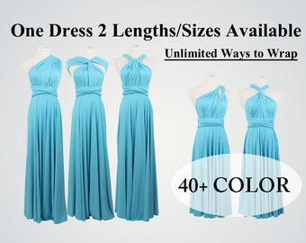 Turquoise bridesmaid dress long infinity dress short convertible bridesmaid dress turquoise infinity dress long maxi dress wedding dress