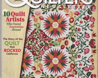 April/May 2010 Quilters Newsletter Magazine TIB12214