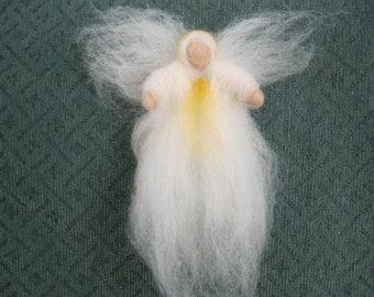 ANGEL, needlefelted, wool