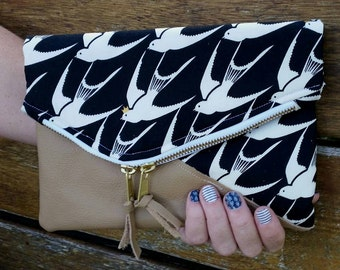 The Tainted Love Fold Over Clutch PDF Sewing Pattern