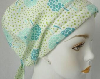 Pretty Floral Cancer Chemo Cotton Hat Scarf Cap Head Wrap Alopecia Turban Bad Hair Day