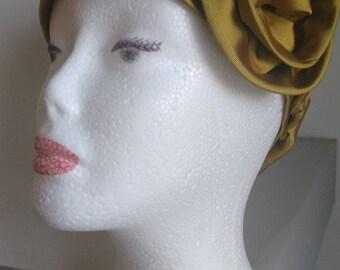 Vintage silk headband women headband