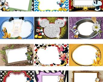 Disney Mickey and Friends Digital 5x7 Autograph Book