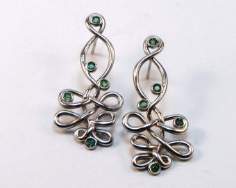 925 silver earrings, RIGGING Collection
