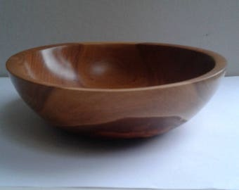 English Cherry Wood Bowl E284