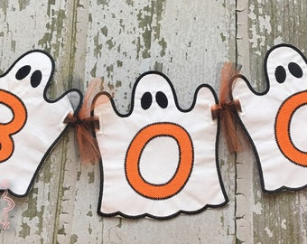 Halloween Banner, Ghost Banner, Halloween Party Banner, Halloween Decorations