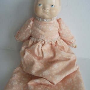 """1930' Antique Composition Doll, 12""""/ vintage collectible doll from 1930s (Bye Lo BABY Doll Grace Putnam?)  rare  collectible!!"""