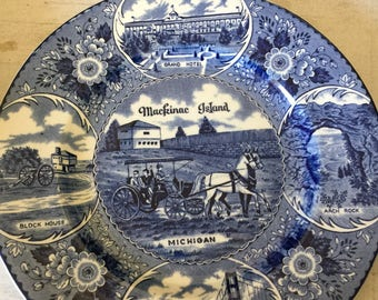 Mackinac Island Collectible Plate