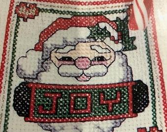 APRILSALE Santa Sacks, The New Berlin Co., Counted Cross Stitch Kit
