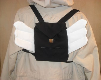 Winged anime backpack-Custom Order