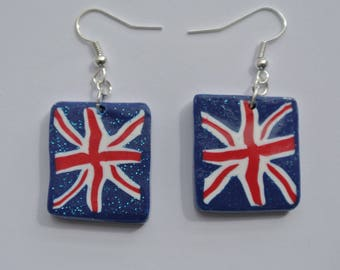Earrings made in England