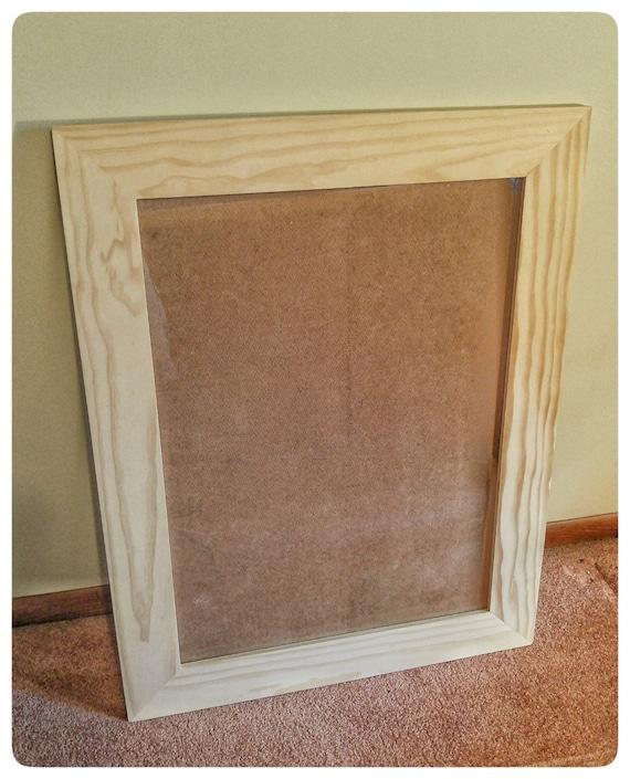 Custom Picture Frame, Square Wood Frames, Large Picture Frame, Large ...