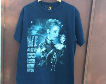 Vintage 1997 Star Trek - We are Borg - T shirt