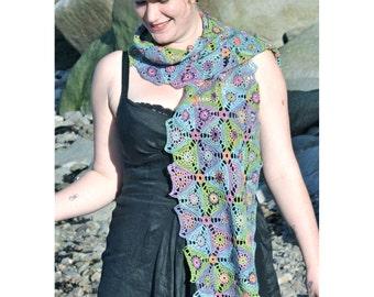 Plankton Crochet Scarf PDF Pattern