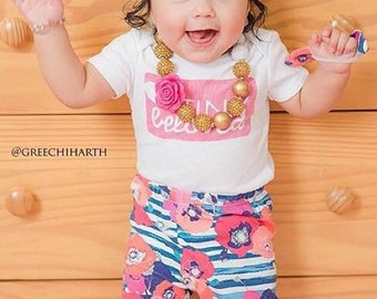 Blue Coral Floral Baby Leggings Coral Toddler Leggings Girl Leggings Floral Leggings Girl Baby Pants Floral Baby Headband Baby Gift