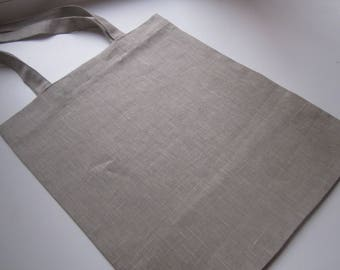 Simple, Thick Linen Tote Bag of A Great Quality