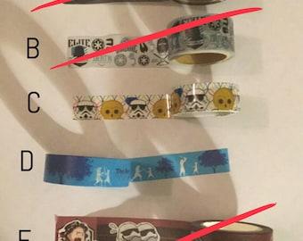 Washi tape sample: Star Wars #2